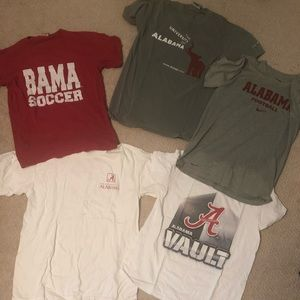 Bama bundle of 6 (2 of the top middle)